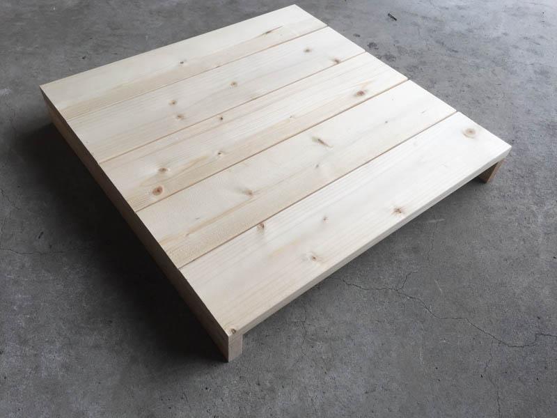 コンポストボックス(堆肥コンポスター)の側面
