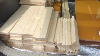 コンポストボックス(堆肥コンポスター)の設計図 ~木材を調達してカットする